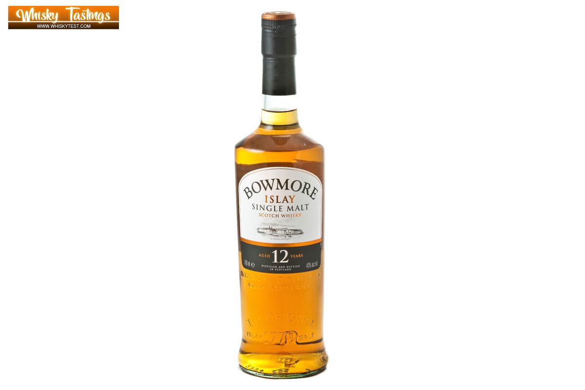 Bowmore 12 Jahre Single Malt Islay Whisky im Test